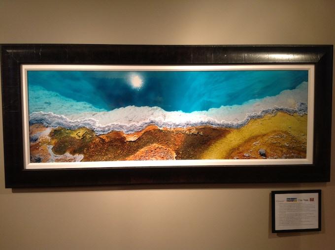 """57"""" image, shown framed. (28 x 68 framed size)"""