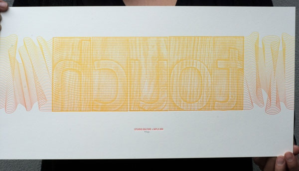 Original, signed print by Studio on Fire ($100 Pledge, 14 available)