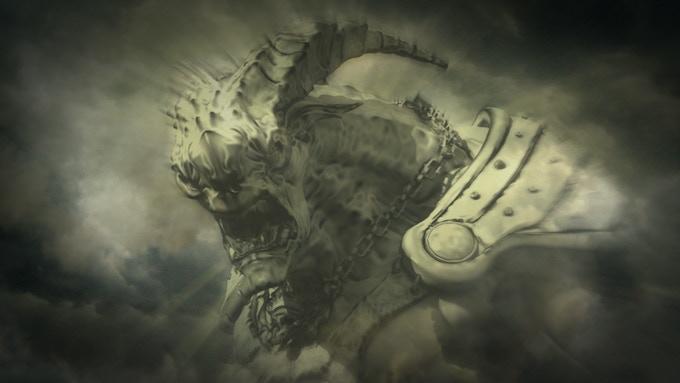 Concept design for King Drac