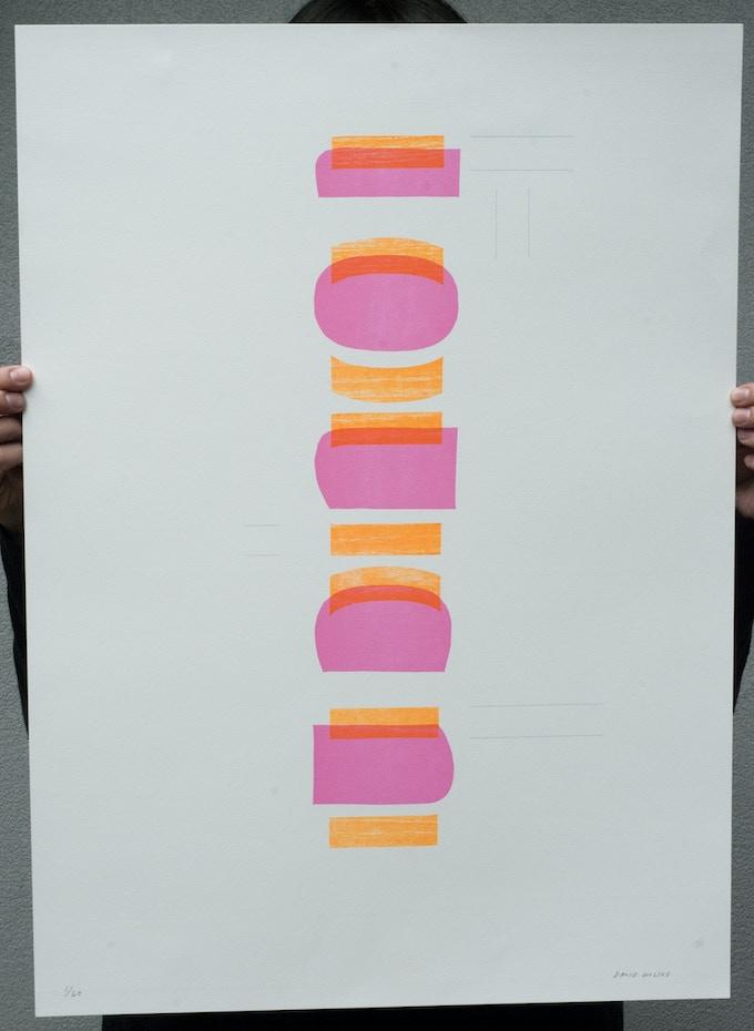 Original, signed print by David Wolske ($100 Pledge, 4 available)