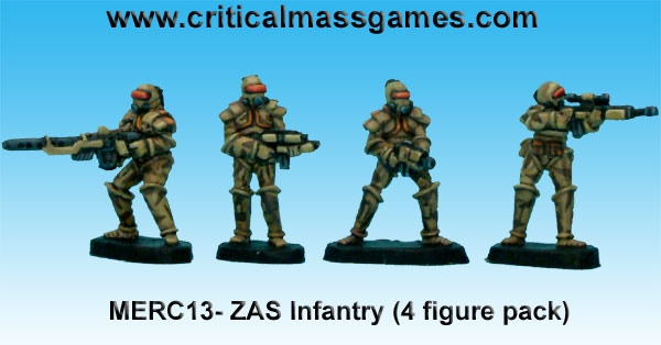 ZAS Infantry the original pack