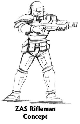 ZAS Rifleman Concept