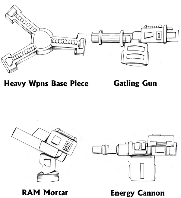 ZAS Heavy Weapons Concepts