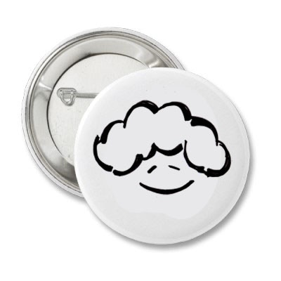 Head in the Clouds Button