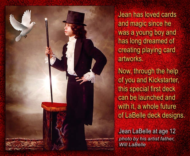 Jean LaBelle at Age 12 in a photo by his father, Will.