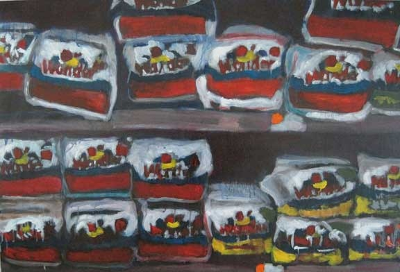 Signed and Numbered Walmart Series Print - Wonder Bread
