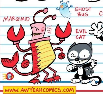 Marquaid & Evil Cat