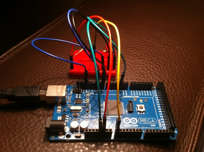 Arduino powered impact measurement device