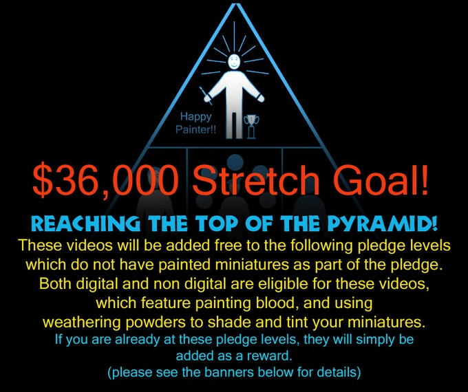 Here are some rewards that will be added automatically if we hit the $36,000 mark!!