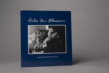 Artie Van Blarcum book, signed by George Tice