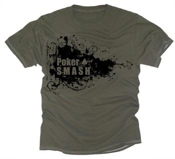 Green Poker Smash T-shirt