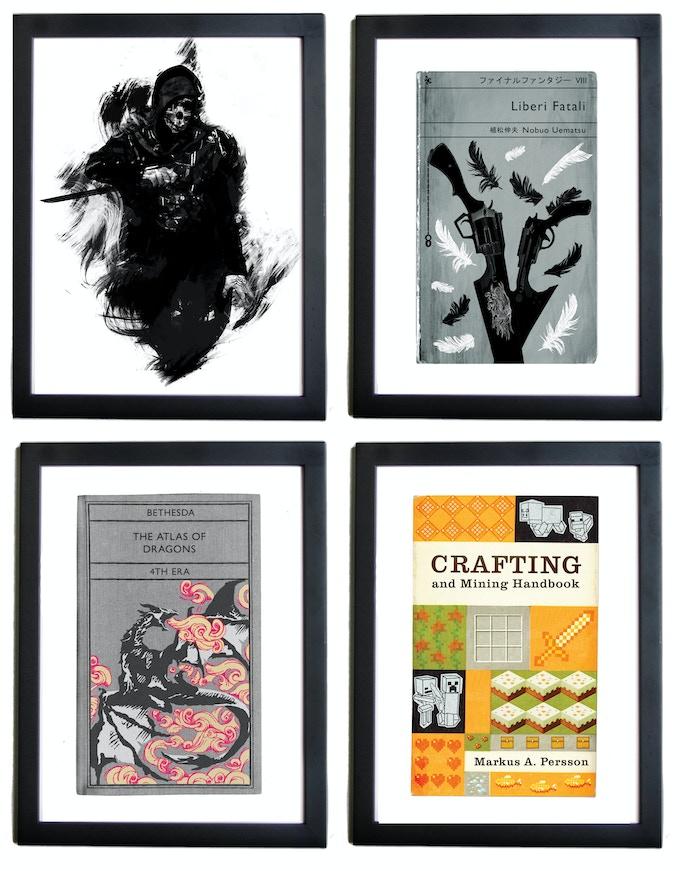 From upper left - Corvo Attano - Liberi Fatali  - Atlas of Dragons - Crafting and Mining Handbook
