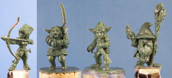 Gnomish Adventurers Box Set By Stonehaven Miniatures