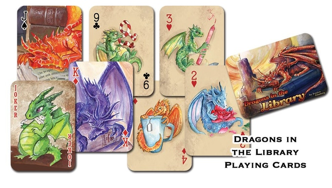 Stretch goal rewards... Playing card decks!  Only $10 for backers!