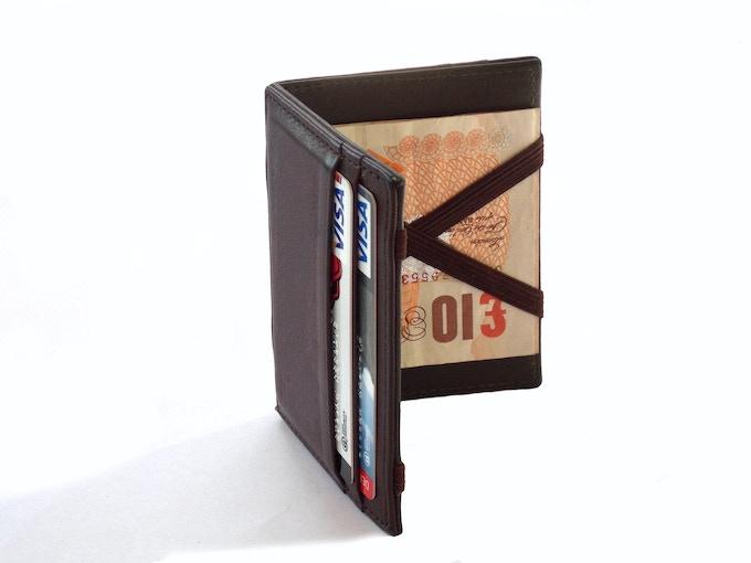 Elegant, super-thin wallet