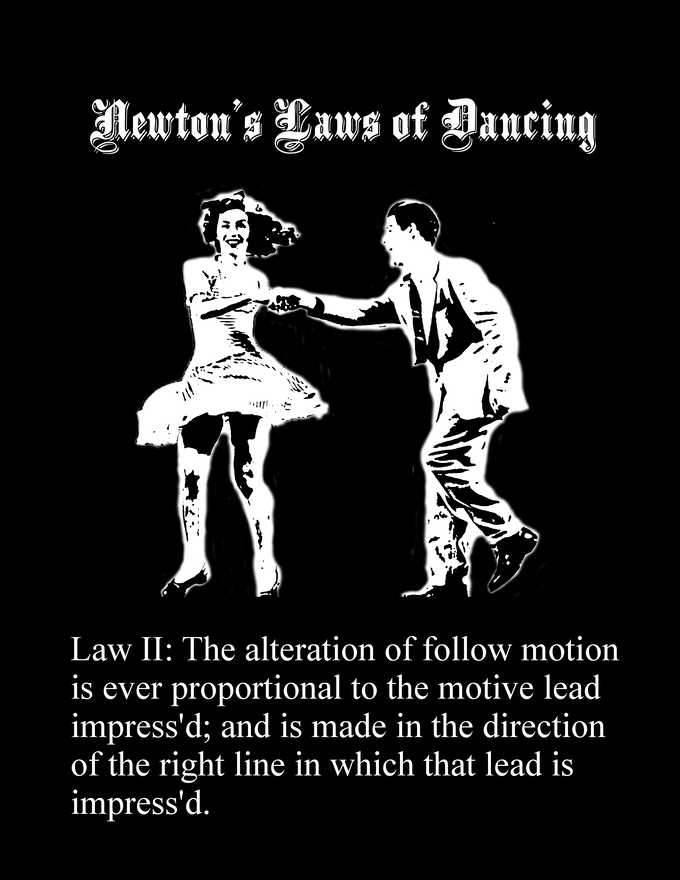 The change in follow motion is proportional to the lead applied.