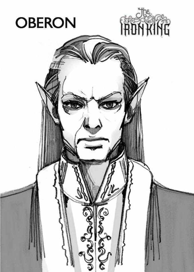 Oberon - character design