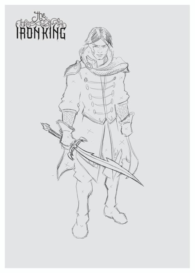 Ash pencils - character design!