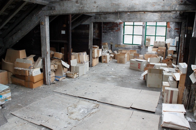 We're going to turn this amazing space into a bathroom with the addition of a bath!