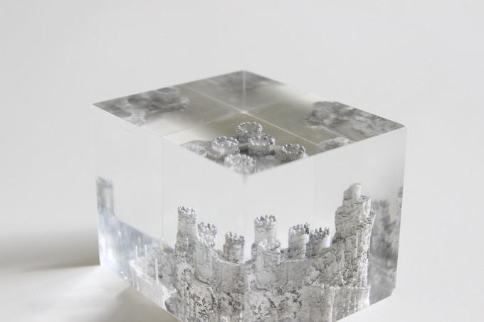 3D Acrylic Sculpture Reward