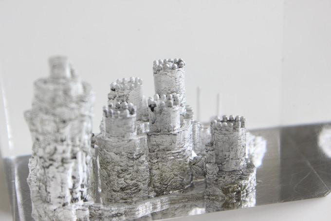 3D Acrylic Sculpture Reward...close up.