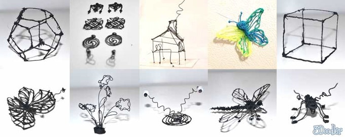3Doodler: The World\'s First 3D Printing Pen by WobbleWorks LLC ...