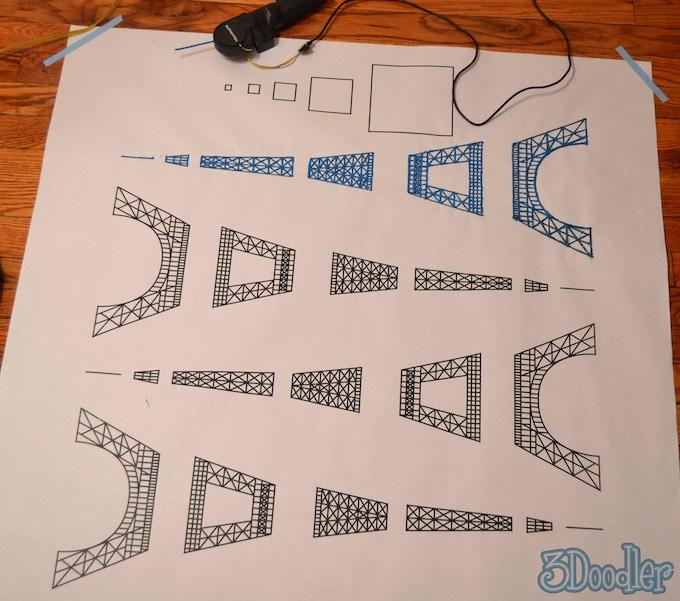 2 ft Eiffel Tower Stencil