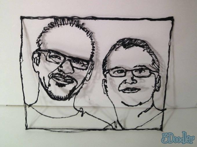 Pete & Max, Inventors of 3Doodler