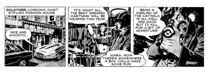 """Remastered strip, with the newly created """"Barreti"""" lettering font and enhanced artwork."""