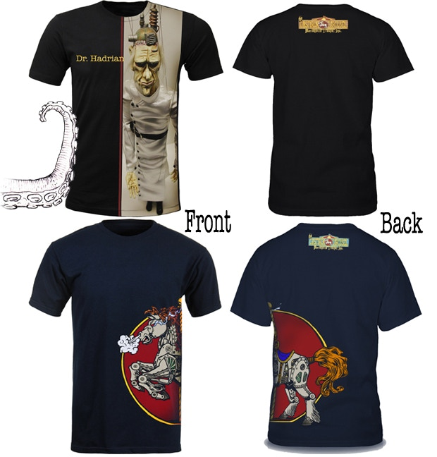 T-shirts in Black and Navy Pledge $40