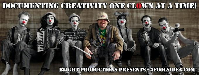 Blight Productions & ClownMa dell'Arte on set shooting the Kickstarter video.