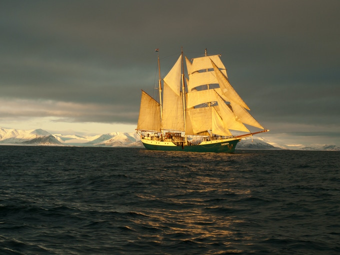 © Barbara Putnam, 2012 -- We'll be on this ship exploring remote Arctic locations!