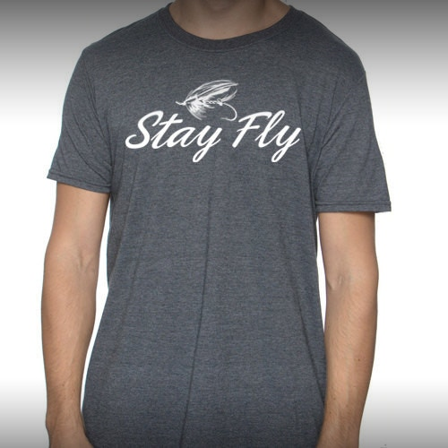 Stay Fly Shirt - Heather Gray