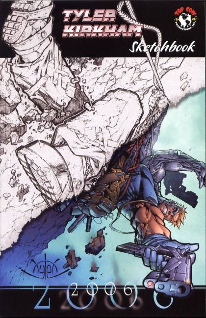 Get a copy of the only ever printed Tyler Kirkham sketchbook with a $30 pledge!