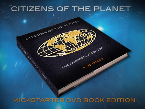 Citizens of the Planet - Live Experience Edition is a CD & DVD in a book which includes a CD, and a DVD. DVD feature interviews and behind the scenes footage. The book is a compilation of pictures, design sketches and stories from the Citizen's Team