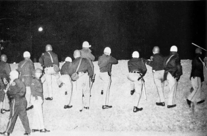 White Law Enforcement Takes Aim at Black Students