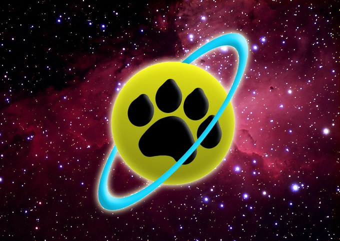 The Space Safarains logo- Mark Hill