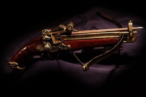 Quill's handmade Hand Crossbow