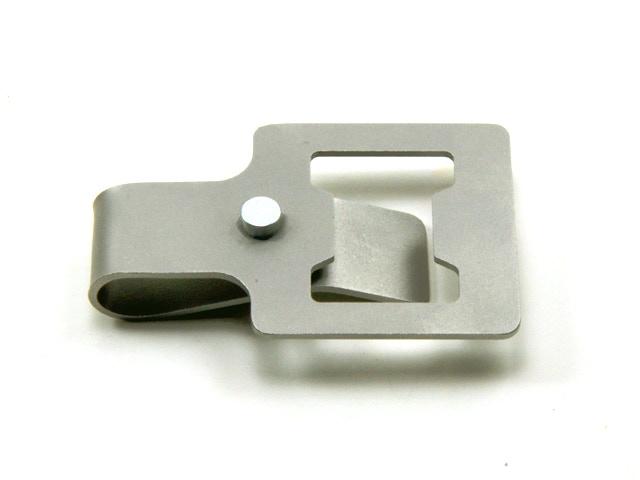 OneKlip - A fluid bottle opener + clip.
