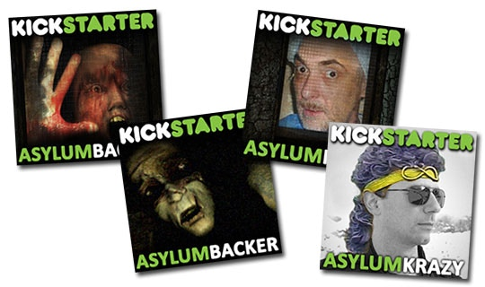 Download the Backer Pack to help promote Asylum!