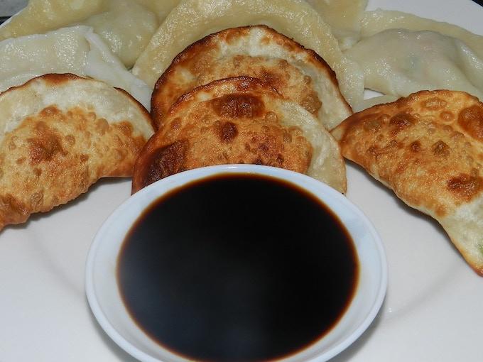 Fried, steamed, and boiled dumplings