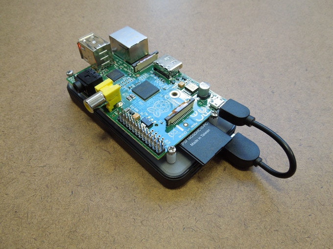 Raspberry Pi Mounted on Non-Slip Smart Power Base
