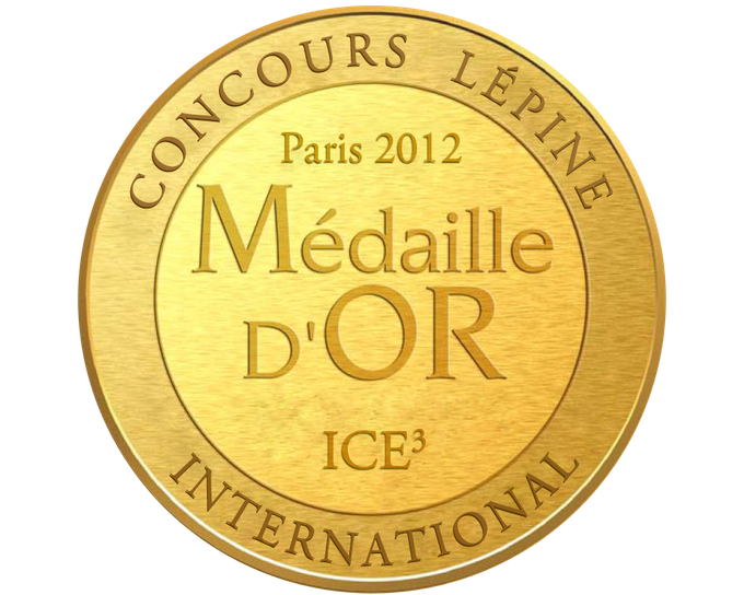 Ice3's gold medal (french version)