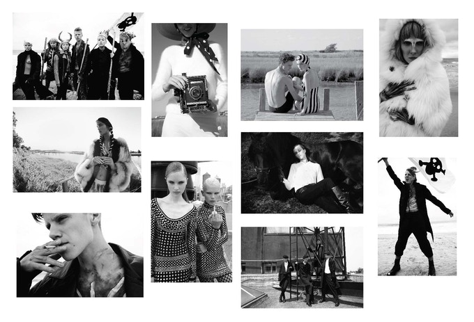 One of our rewards: a set of ten b&w postcards with beautiful images from our AMAZING shoots.