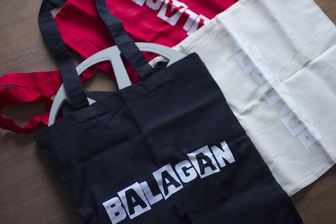 Balagan tote bags!