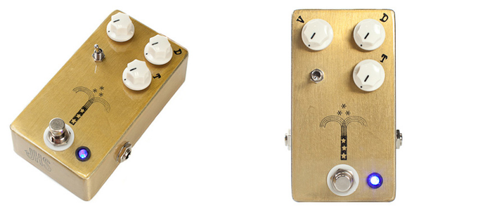 JHS Morning Glory used by John Mark on the new album :: With enough clean headroom to be used as a boost as well as a hefty amount of drive, this may be your go-to pedal for good.