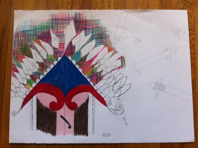 Sample of Original Art Work