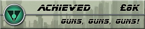 Guns, Guns, Guns! Stretch Goal - Achieved