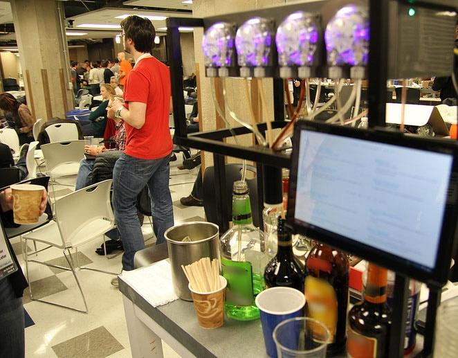 Bartendro 7 at ORDcamp