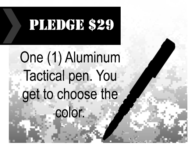Tactical Pen By Cybernetic Research Labs Kickstarter